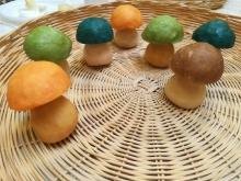 Funghetti in sapone